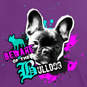 Bully, Fransk Bulldog - Attention fare T-shirts - Dame kontrast-T-shirt