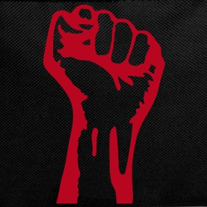 1 color - against capitalism working class war revolution Tassen - Rugzak