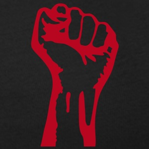 1 color - against capitalism working class war revolution T-shirts - Vrouwen T-shirt met U-hals