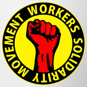 Digital - Workers Solidarity Movement - Working Class Unity Against Capitalism Tassen - Tasse