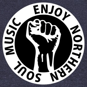 Digital - Enjoy Northern Soul Music - nighter keep the faith Felpe - Felpa con scollo a barca da donna, marca Bella