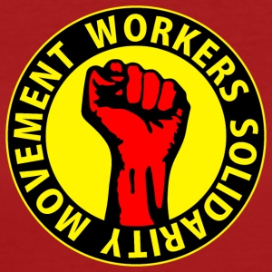 Digital - Workers Solidarity Movement - Working Class Unity Against Capitalism T-shirt - T-shirt ecologica da donna