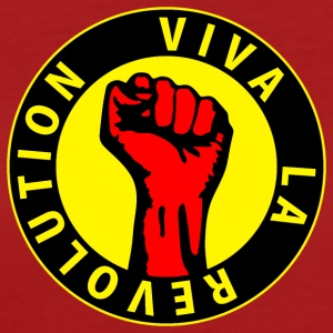 Digital - Viva la Revolution - Working Class Unity Against Capitalism T-shirt - T-shirt ecologica da donna