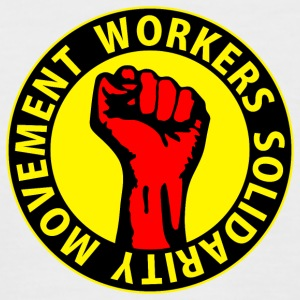 Digital - Workers Solidarity Movement - Working Class Unity Against Capitalism T-Shirts - Männer Baseball-T-Shirt