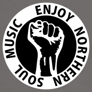 Digital - Enjoy Northern Soul Music - nighter keep the faith T-Shirts - Männer Kontrast-T-Shirt