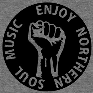 1 colors - Enjoy Northern Soul Music - nighter keep the faith Bluzy - Bluza damska Bella z dekoltem w łódkę