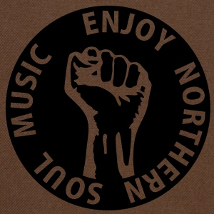 1 colors - Enjoy Northern Soul Music - nighter keep the faith Väskor - Axelväska