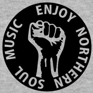 1 colors - Enjoy Northern Soul Music - nighter keep the faith Bluzy - Bluza męska