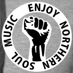 2 colors - Enjoy Northern Soul Music - nighter keep the faith Jackets & Vests - Men's Premium Hooded Jacket