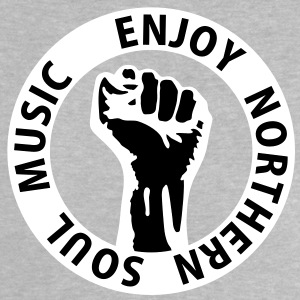 2 colors - Enjoy Northern Soul Music - nighter keep the faith Babyskjorter - Baby-T-skjorte