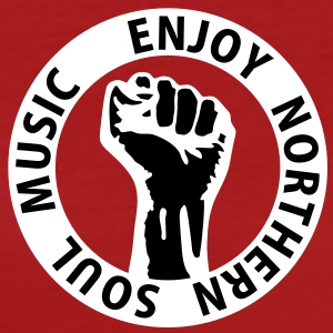 2 colors - Enjoy Northern Soul Music - nighter keep the faith Camisetas - Camiseta ecológica mujer