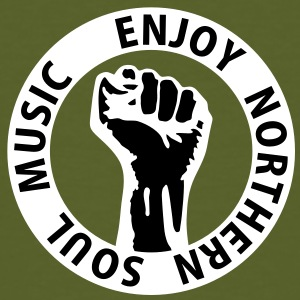 2 colors - Enjoy Northern Soul Music - nighter keep the faith T-Shirts - Men's Organic T-shirt