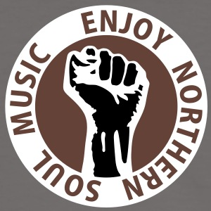 3 colors - Enjoy Northern Soul Music - nighter keep the faith T-shirt - Maglietta Contrast da uomo