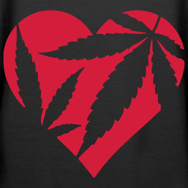 Naisten I love Cannabis - huppari!