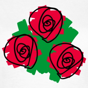 Red red roses - Women's T-Shirt