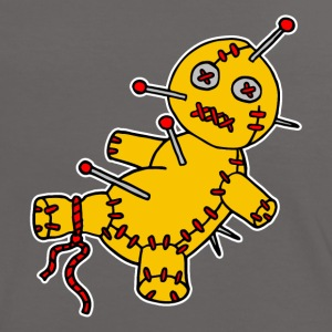 Digital - Voodoo Puppe Doll Funny Game Hawaii Tattoo Horror Psychopath Camisetas - Camiseta contraste mujer