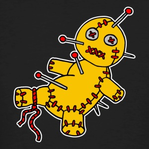 Digital - Voodoo Puppe Doll Funny Game Hawaii Tattoo Horror Psychopath T-Shirts - Men's Organic T-shirt