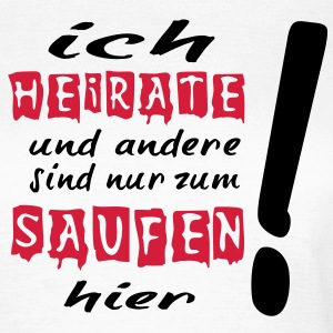 ich_heirate T-Shirts - Frauen T-Shirt