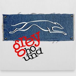 GrEyHoUnD Sacs - Tote Bag