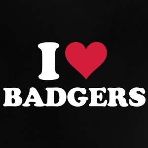 I Heart Badgers Baby Shirts  - Baby T-Shirt