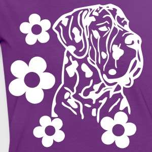www.dog-power.nl - Frauen Kontrast-T-Shirt