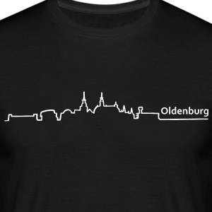 oldenburg skyline - Männer T-Shirt
