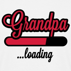 Grandpa loading T-Shirts - Mannen T-shirt