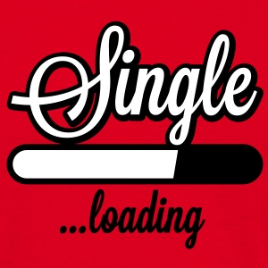 Single loading | Single wird geladen T-Shirts - Mannen T-shirt