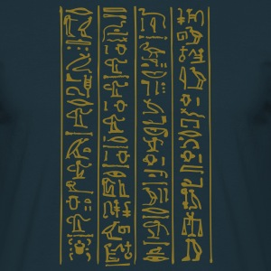 hieroglyphs - The book of Life T-Shirts - Männer T-Shirt