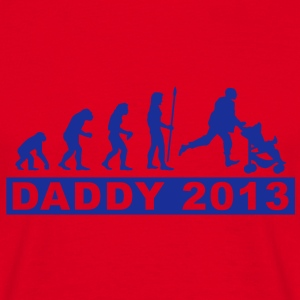 evolution_daddy_2013 T-skjorter - T-skjorte for menn