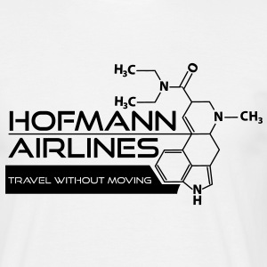 Hofmann Airlines [Black] T-Shirts - Men's T-Shirt