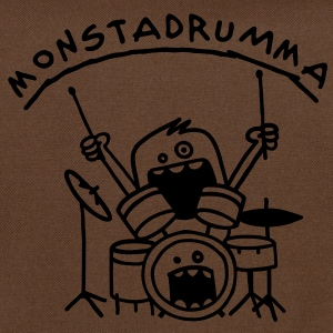 Monster Drummer Tassen - Schoudertas