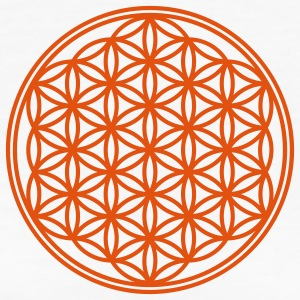 Vector - Flower of Life - 01, 1c, sacred geometry, energy, symbol, powerful, healing, protection, cl Camisetas - Camiseta ecológica mujer