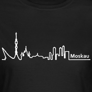 Moskau skyline - Frauen T-Shirt