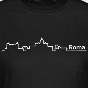 roma skyline - Frauen T-Shirt