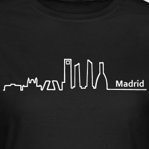 madrid skyline - Frauen T-Shirt