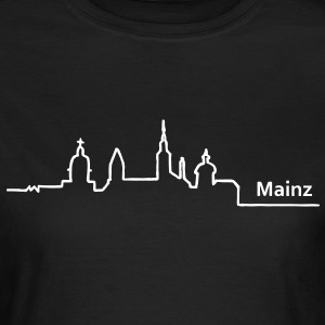 mainz skyline - Frauen T-Shirt