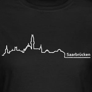saarbruecken skyline - Frauen T-Shirt