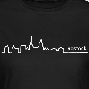 rostock skyline - Frauen T-Shirt
