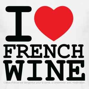 I love French Wine Tee shirts - T-shirt Homme