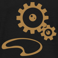 Design ~ Gears Steampunk T-shirt Men