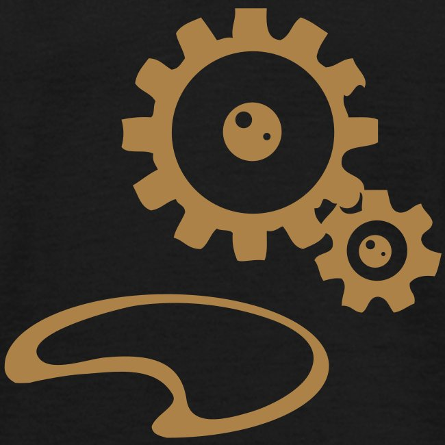 Gears Steampunk T-shirt Men
