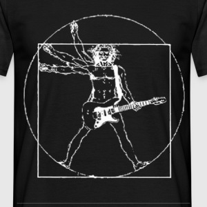 davincineg (for dark bkg) - Men's T-Shirt