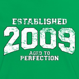 established 2009 - aged to perfection (nl) T-shirts - Vrouwen contrastshirt