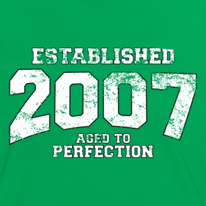 established 2007 - aged to perfection (fr) Tee shirts - T-shirt contraste Femme