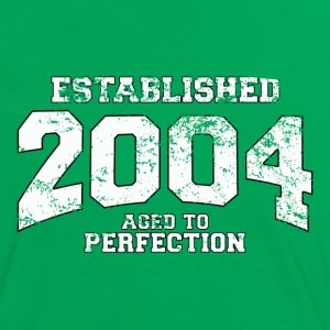 established 2004 - aged to perfection (fr) Tee shirts - T-shirt contraste Femme