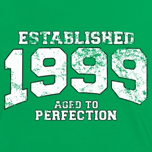 Geburtstag - established 1999 - aged to perfection - Frauen Kontrast-T-Shirt