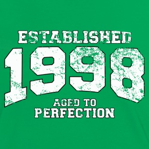 established 1998 - aged to perfection (nl) T-shirts - Vrouwen contrastshirt