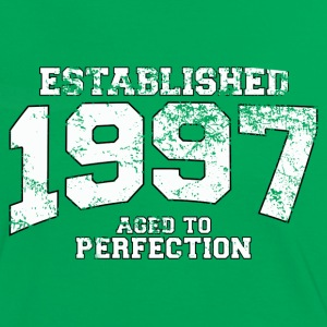 established 1997 - aged to perfection (fr) Tee shirts - T-shirt contraste Femme