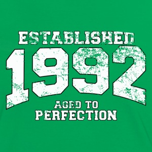 established 1992 - aged to perfection (fr) Tee shirts - T-shirt contraste Femme